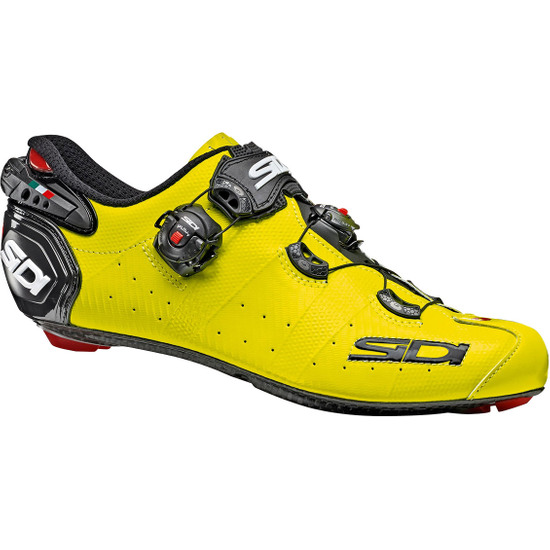 Sapatilhas SIDI Wire 2 Carbon Yellow Fluo / Black