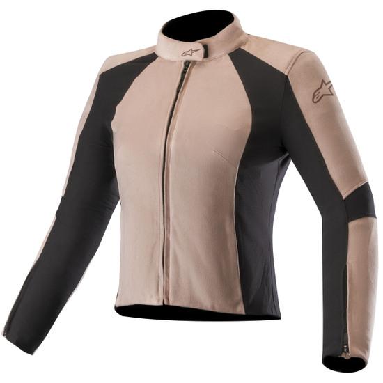 Large L Black ALPINESTARS Women/'s Stella Vika Leather Motorcycle Gloves