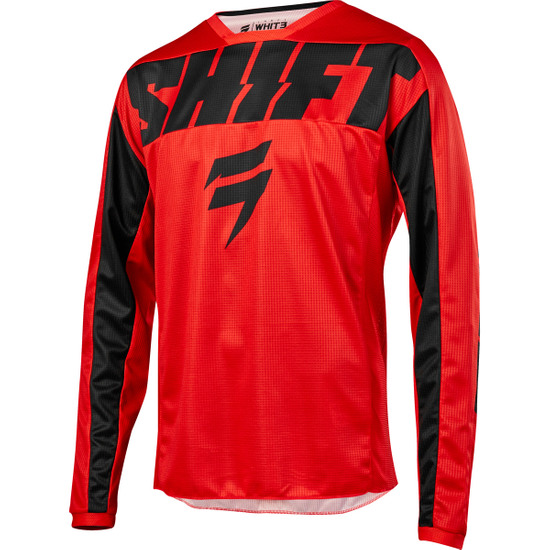 Maillot off road SHIFT White Label York 2019 Red