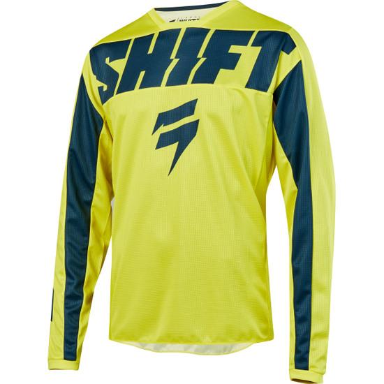 Camiseta SHIFT White Label York 2019 Yellow / Navy