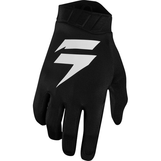SHIFT Black Label Air Black / White Gloves