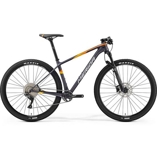 """Bici da montagna MERIDA Big Nine 3000 29"""" 2019 Silver / Orange"""