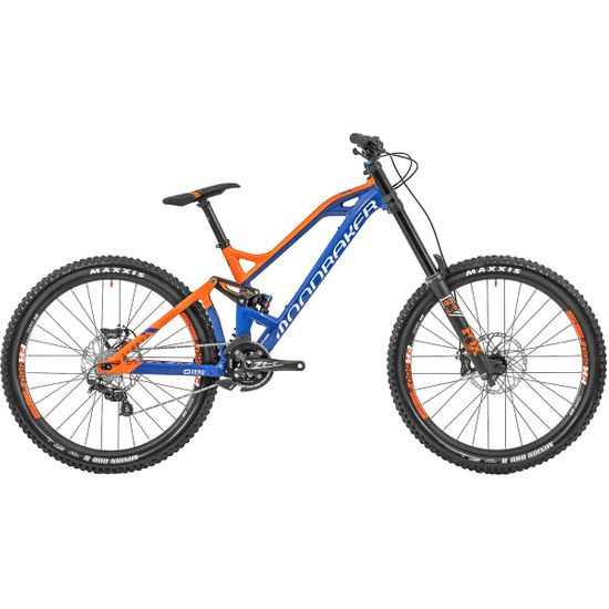 "Vélo Tout-Terrain MONDRAKER Summum Pro 27,5"" 2019 Dark Blue / Orange"