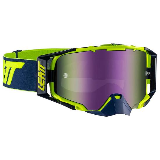 Brille LEATT Velocity 6.5 Iriz Ink / Lime Purple 30%