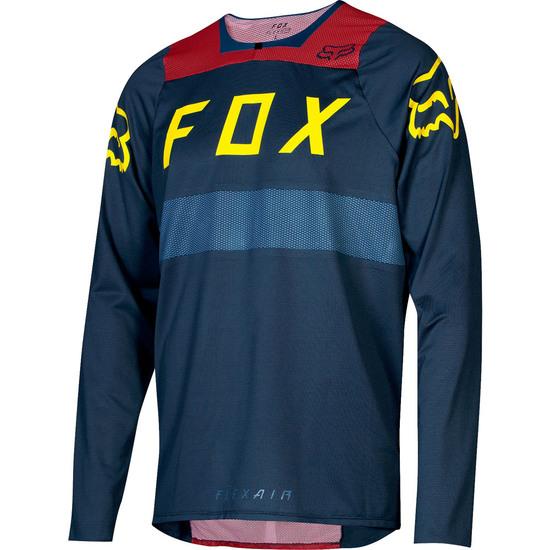 Maillot FOX Flexair L/S Midnight