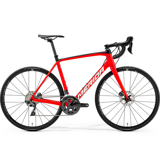 MERIDA Scultura Disc 6000 Red / White Road bike