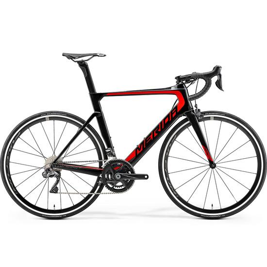 Bici da strada MERIDA Reacto 7000 E 2019 Black / Red