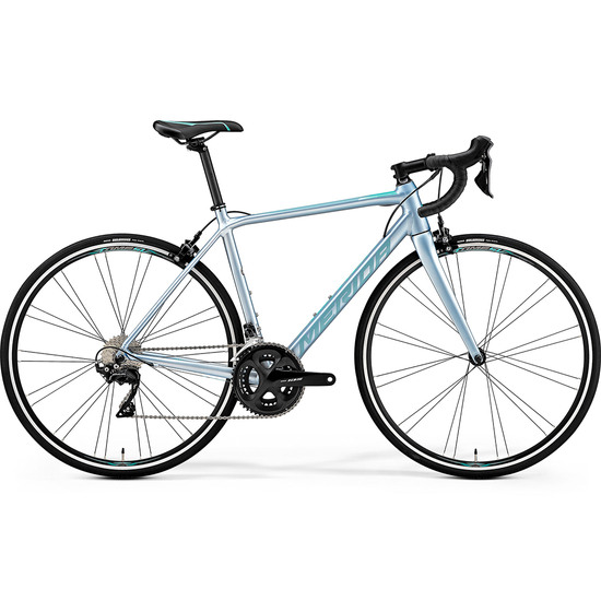 Rennrad MERIDA Scultura 400 Juliet 2019 Grey / Blue