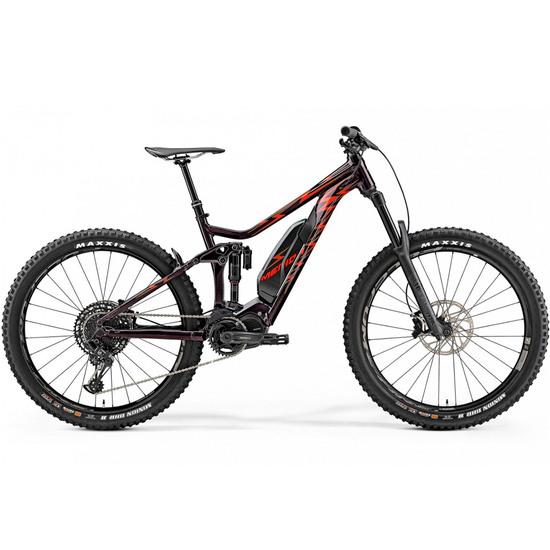 Bicicleta de montaña MERIDA E-One Sixty Metalrida 2019 Red
