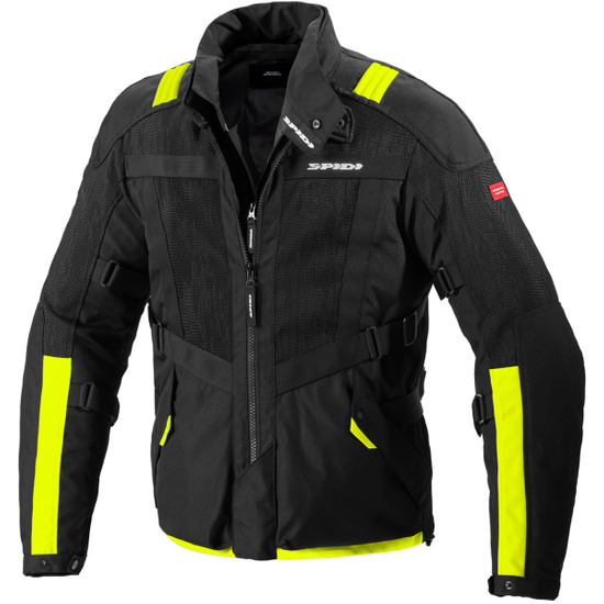 Chaqueta SPIDI Netrunner H2Out Yellow Fluo