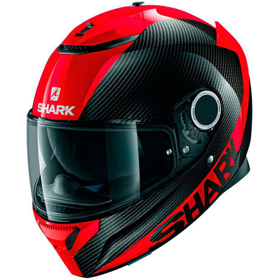 Casco SHARK Spartan Carbon 1.2 Carbon Skin Carbon / Red / Red