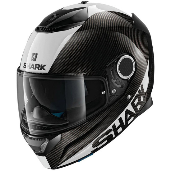 Helm SHARK Spartan Carbon 1.2 Carbon Skin Carbon / White / Silver