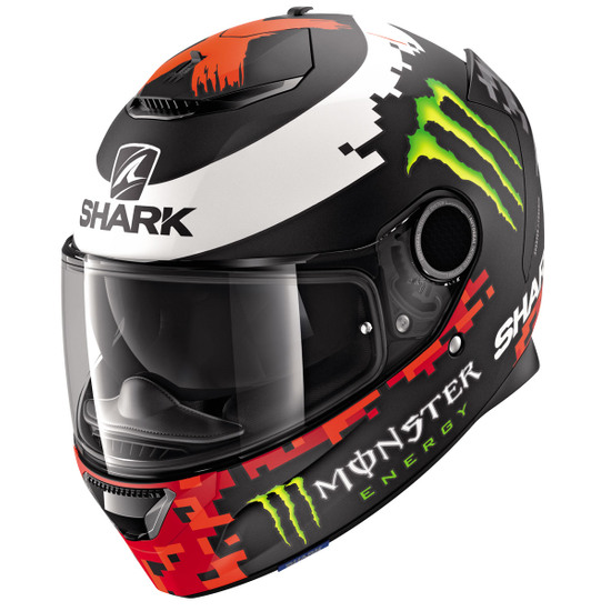SHARK Spartan 1.2 Replica Lorenzo Monster Mat 2018 Helmet