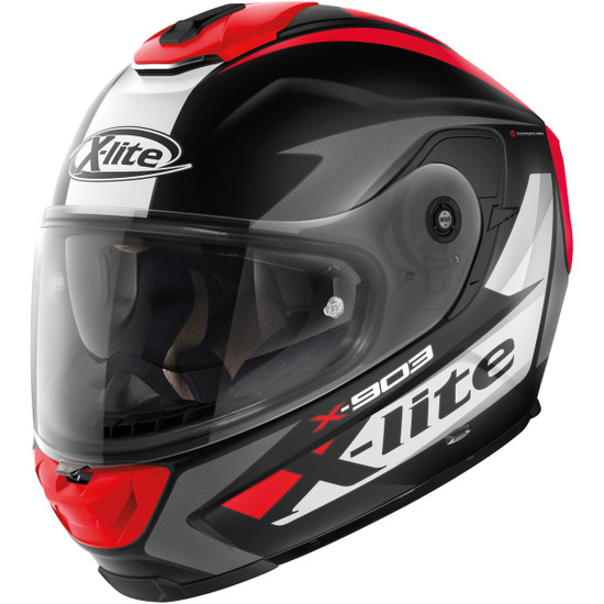 Casco X-LITE X-903 Nobiles N-Com Black / Red