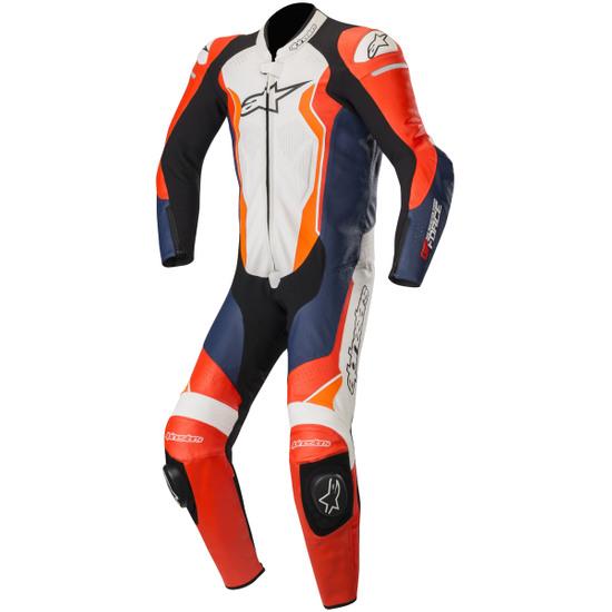 Traje / Mono ALPINESTARS GP Force Professional Red Fluo / Black / White / Orange Fluo