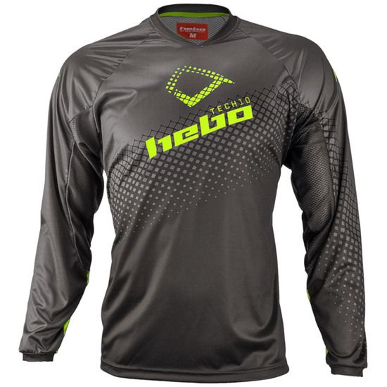 Camiseta HEBO Tech 10 Evo Lime