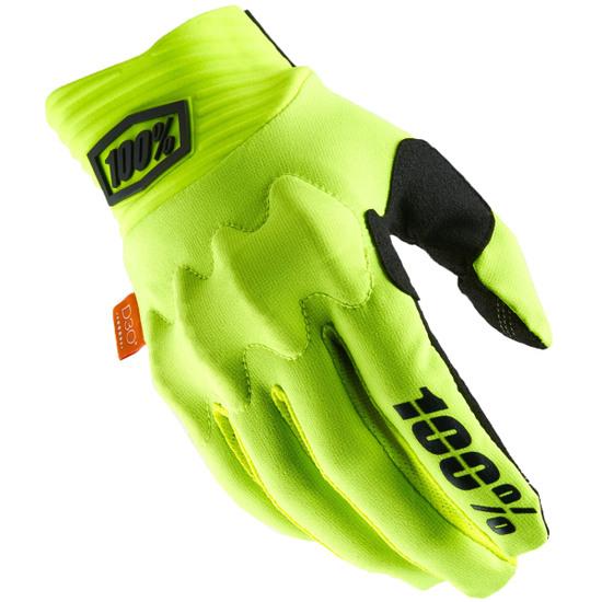 Handschuh 100% Cognito Fluo Yellow / Black