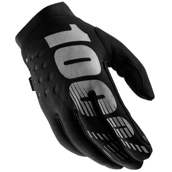 Guanto 100% Brisker Black / Grey