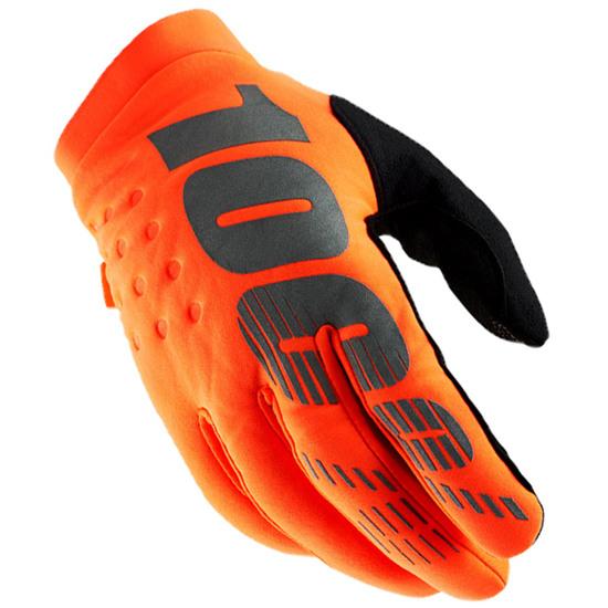 Guanto 100% Brisker Orange / Black