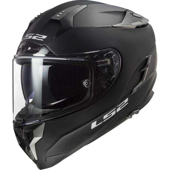 Helm LS2 FF327 Challenger Matt Black