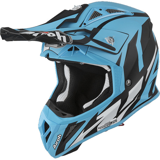 AIROH Aviator 2.3 AMS2 Great Azure Matt Helmet