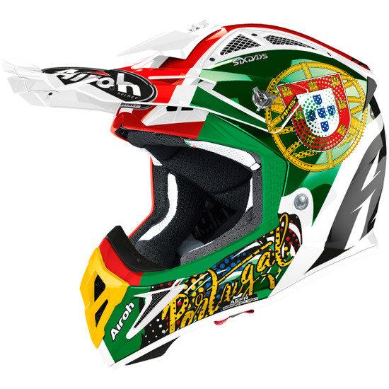 Helm AIROH Aviator 2.3 AMS2 Six Days 2020 Portugal Limited Edition