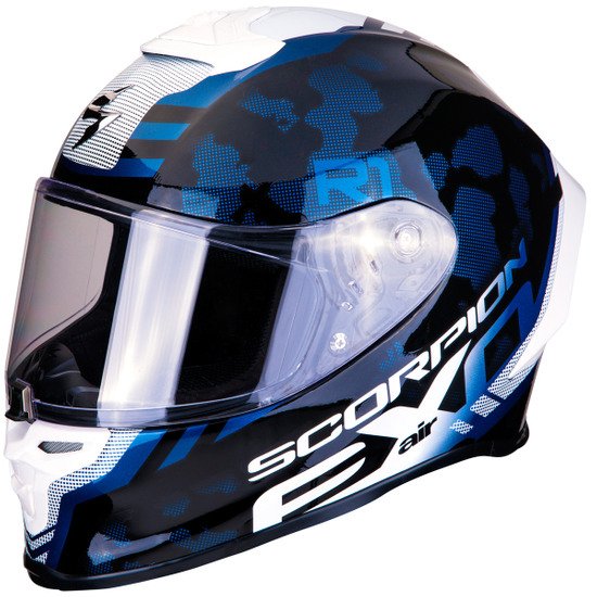 Helm SCORPION Exo-R1 Air Ogi Black / White