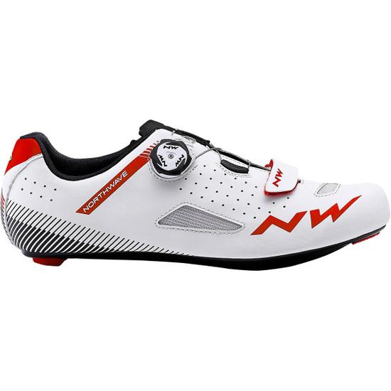 Zapatillas NORTHWAVE Core Plus White / Red