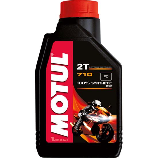 Aceite y Spray MOTUL 710 2T 1L