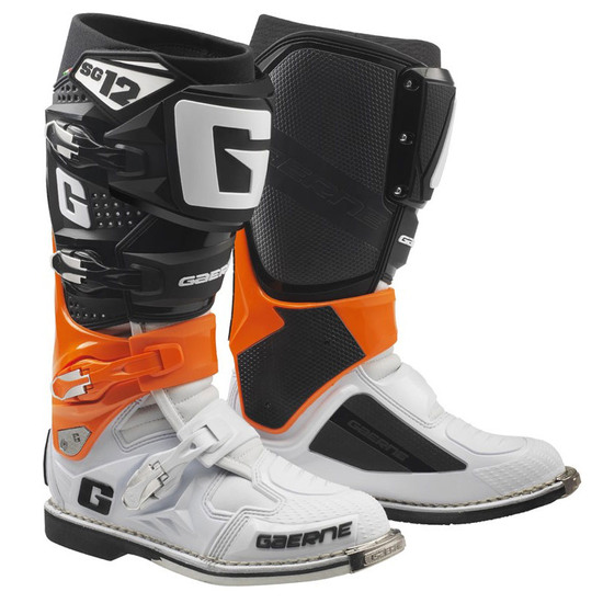 GAERNE SG12 Orange / Black / White Boots
