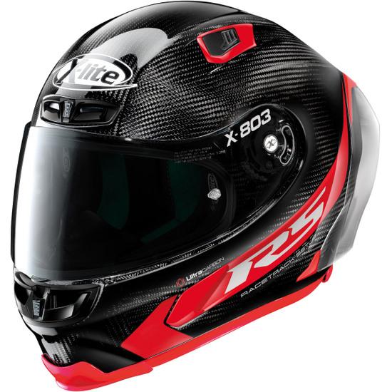 Helm X-LITE X-803 RS Ultra Carbon Hot Lap Black / Red