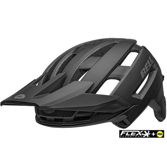 Casco BELL Super Air Mips Matte - Gloss Black