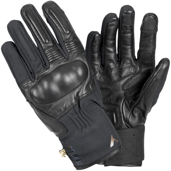 BY CITY Artic Black Gloves