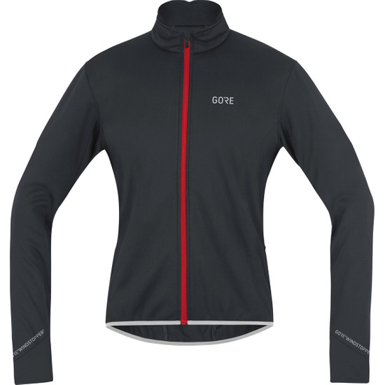 GORE C5 Gore Windstopper Thermo Black / Red Jacket