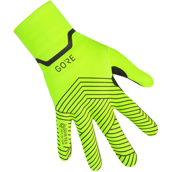Handschuh GORE C3 Gore-Tex Infinium Stretch Mid Neon Yellow / Black