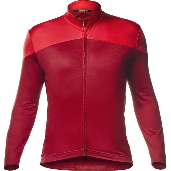 Maillot MAVIC Cosmic LS Red Dahlia / Haute Red