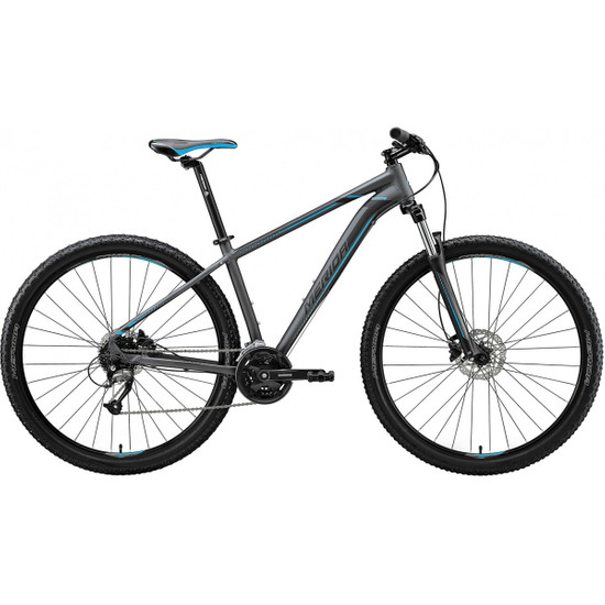 "MERIDA Big Nine 40 29"" 2020 Silver / Blue Mountainbike"