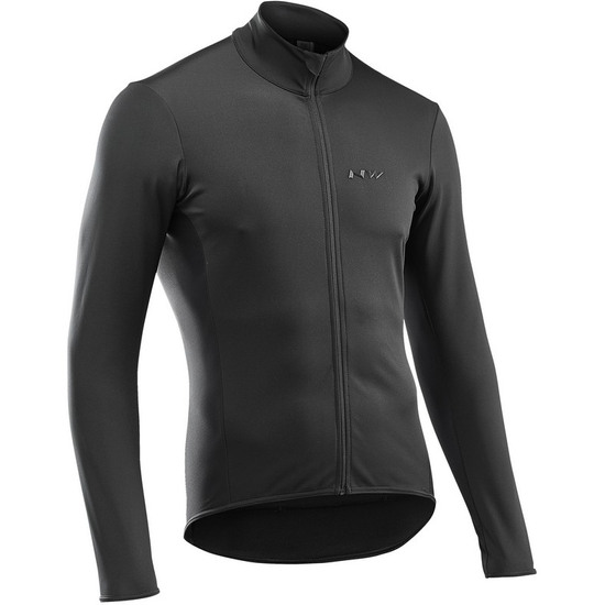 Chaqueta NORTHWAVE Air Out Front Protection LS Black