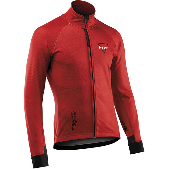 Chaqueta NORTHWAVE Blade 3 Total Protection Red / Black