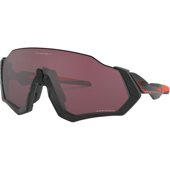 Máscara / Gafas OAKLEY Flight Jacket Matte Black / Red / Prizm Road Black