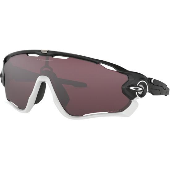 OAKLEY Jawbreaker Matte Black / White / Prizm Road Black Mask / Goggle