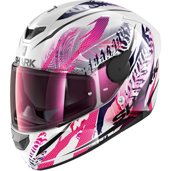 Casco SHARK D-Skwal 2 Shigan White / Black / Violet
