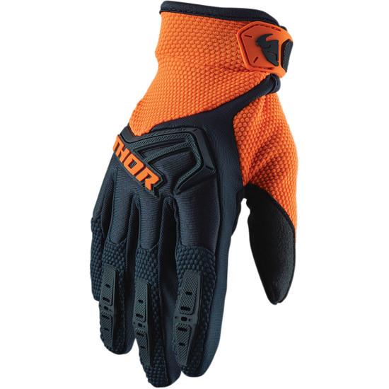 THOR Spectrum Midnight / Orange Gloves
