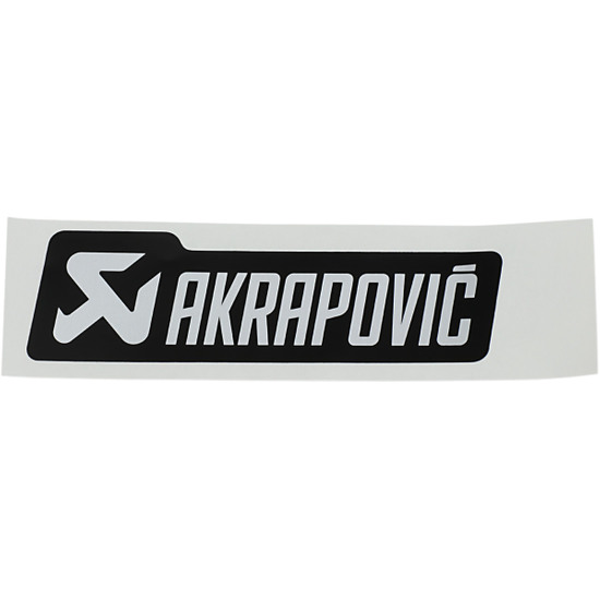Aufkleber AKRAPOVIC P-HST4ALMONO