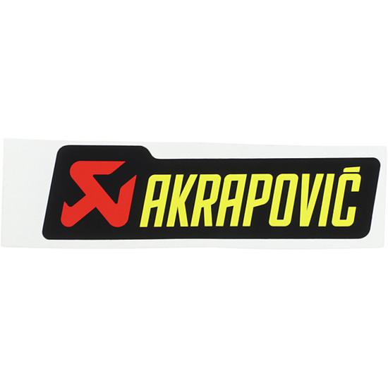 Aufkleber AKRAPOVIC P-HST2AL
