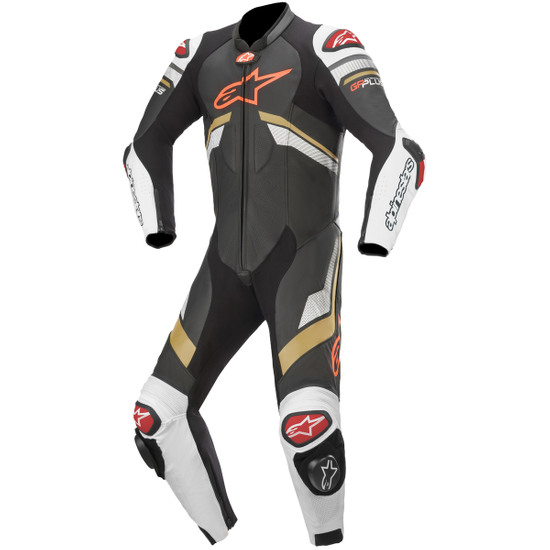 Anzug / Kombi ALPINESTARS GP Plus V3 Professional Black / White / Gold / Bright Red