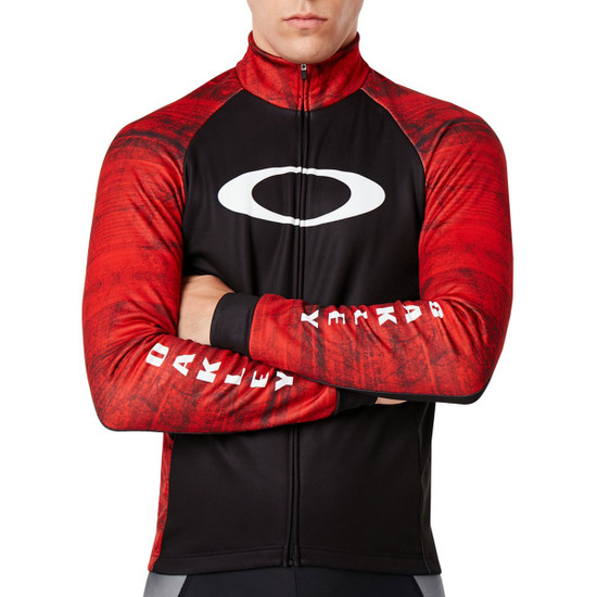 Chaqueta OAKLEY Cycling Aero Jacket Fired Forest
