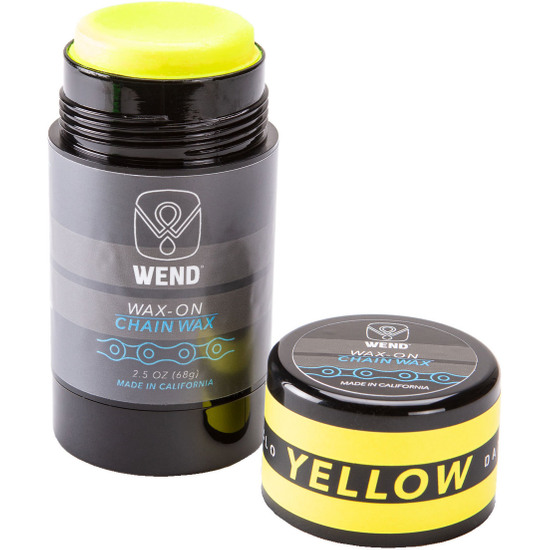 Officina WEND Wax-On Spectrum Colors 2.5oz Twist Up Yellow