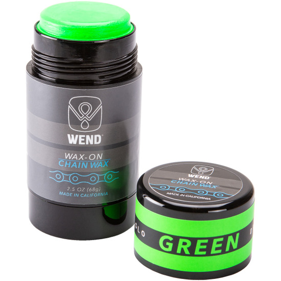 WEND Wax-On Spectrum Colors 2.5oz Twist Up Green Workshop