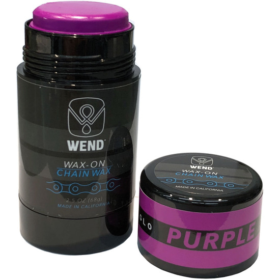 Werkstatt WEND Wax-On Spectrum Colors 2.5oz Twist Up Purple